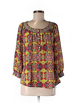 Caslon 3/4 Sleeve Blouse Size M