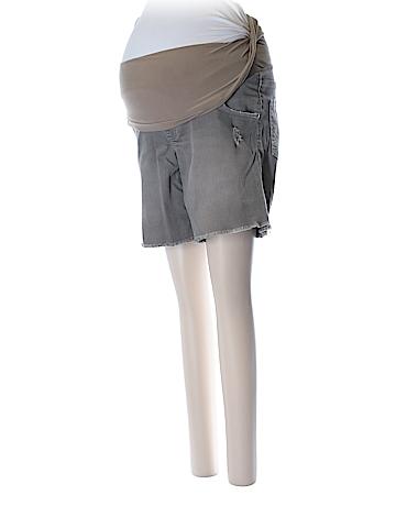 Indigo Blue Denim Shorts Size XS (Maternity)