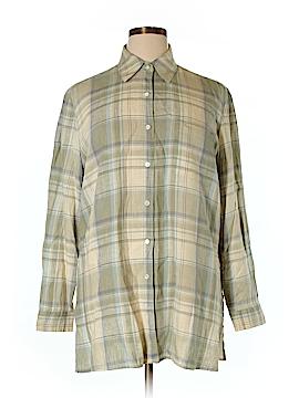 Saks Fifth Avenue Long Sleeve Button-Down Shirt Size XL