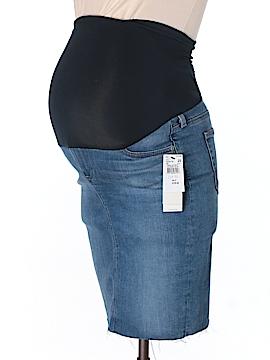 Adriano Goldschmied Denim Skirt 25 Waist (Maternity)