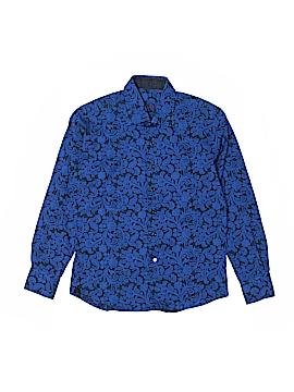 Robert Graham Long Sleeve Button-Down Shirt Size 10