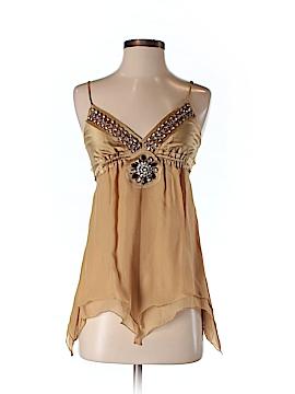 Poleci Sleeveless Silk Top Size 2