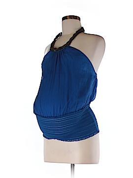 Catherine Malandrino for A Pea in the Pod Sleeveless Silk Top Size 2 (Maternity)