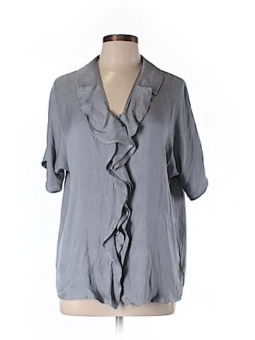 Express Short Sleeve Blouse Size M