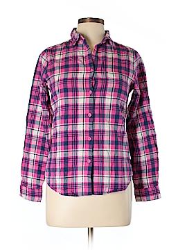 Vans Long Sleeve Button-Down Shirt Size L