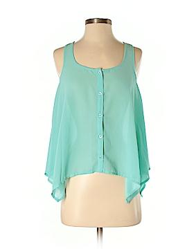 Iris Los Angeles Sleeveless Blouse Size S