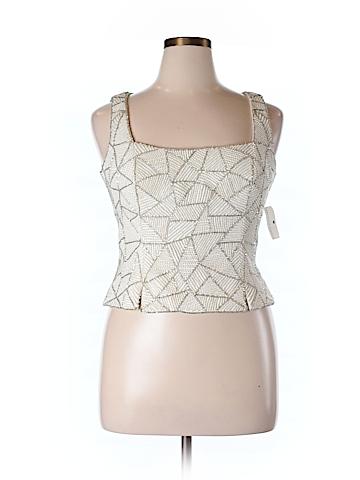 Kay Unger Women Sleeveless Blouse Size 14