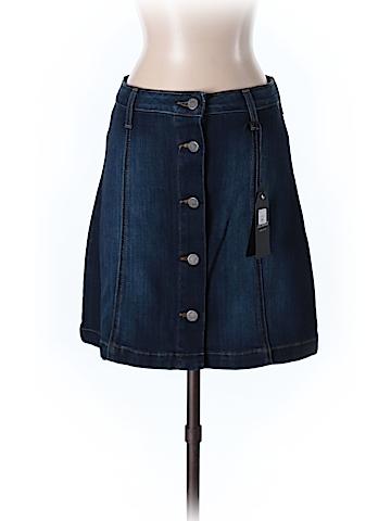 Just Black Denim Skirt Size S