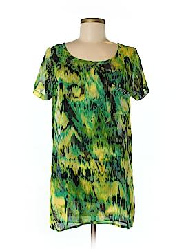Lynn Ritchie Short Sleeve Blouse Size XS