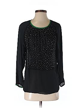 Cynthia Rowley Long Sleeve Silk Top Size XS