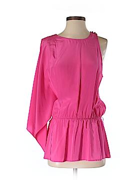 BCBGMAXAZRIA 3/4 Sleeve Silk Top Size S