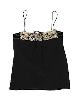 HOW & WEN Sleeveless Silk Top Size 4