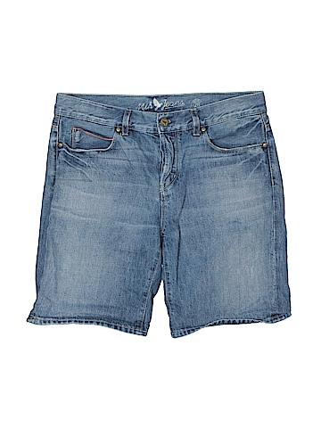 Mia Jeanswear Women Denim Shorts 28 Waist