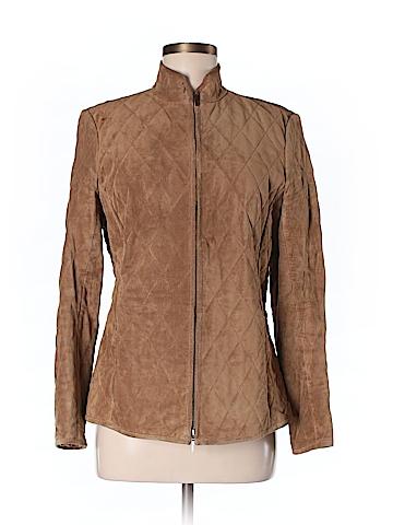 Ann Taylor Leather Jacket Size M