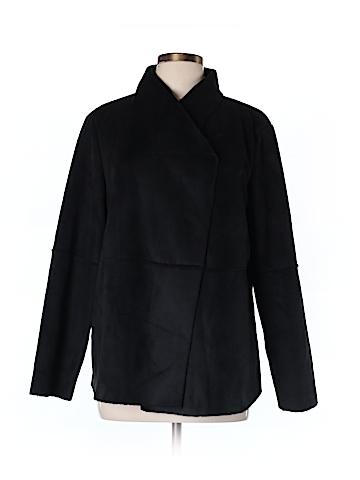Tsd by Stella Carakasi Faux Leather Jacket Size L