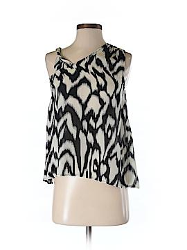 Gemma Sleeveless Silk Top Size XS