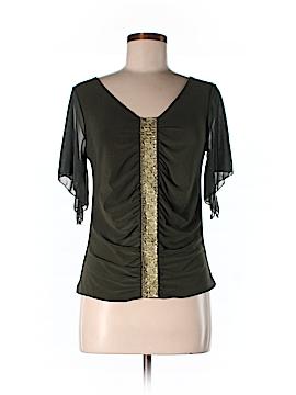Newport News 3/4 Sleeve Blouse Size L