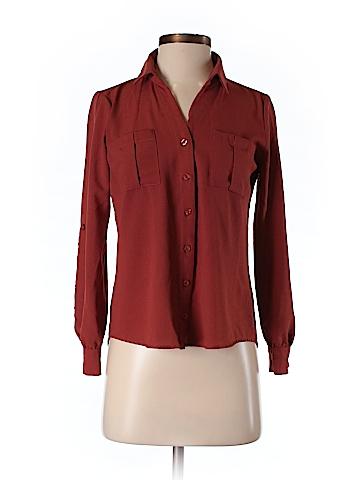 Mine Long Sleeve Blouse Size S
