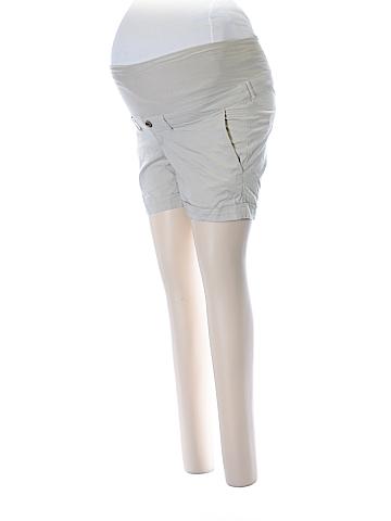 H&M Mama Khaki Shorts Size 4 (Maternity)