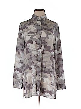 Acrobat Long Sleeve Silk Top Size S