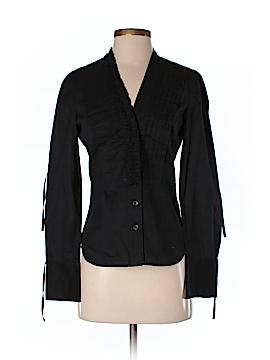 BCBGMAXAZRIA Long Sleeve Button-Down Shirt Size 4