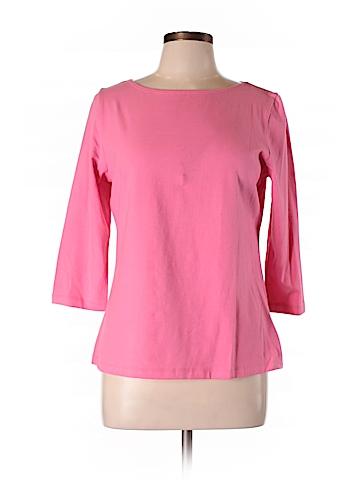 Talbots Outlet Women 3/4 Sleeve T-Shirt Size L (Petite)