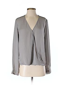 Otte Long Sleeve Silk Top Size S