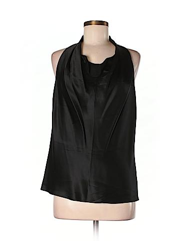 Vince. Women Sleeveless Silk Top Size M
