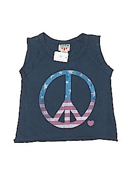 Junk Food Sleeveless T-Shirt Size 4