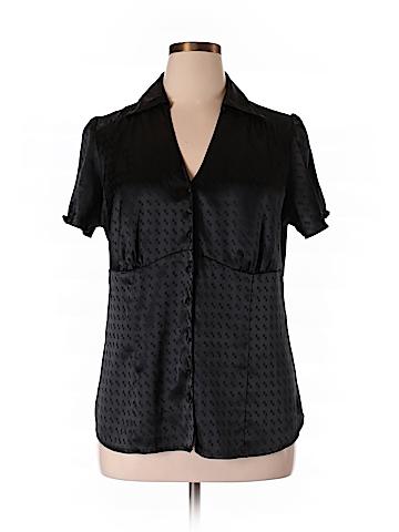 Lane Bryant Women Short Sleeve Blouse Size 14 - 16