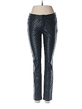 Aqua Faux Leather Pants 26 Waist