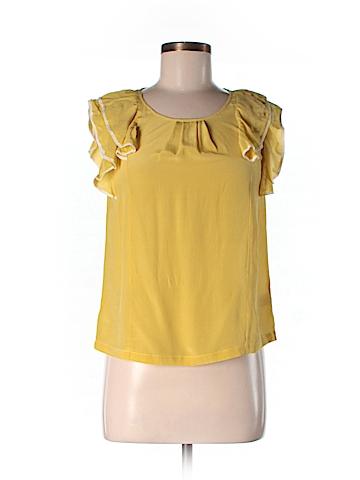 Aerie Short Sleeve Silk Top Size 0