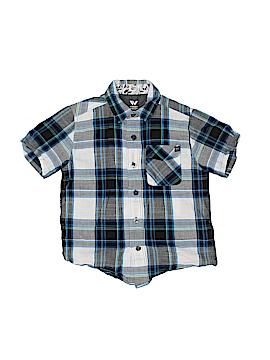 Shaun White Short Sleeve Button-Down Shirt Size 4 - 5