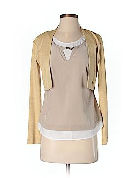 Fabiana Filippi Long Sleeve Silk Top Size 42 (IT)