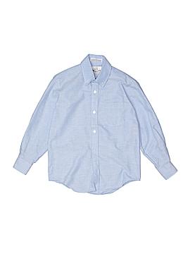 Van Heusen Long Sleeve Button-Down Shirt Size 7