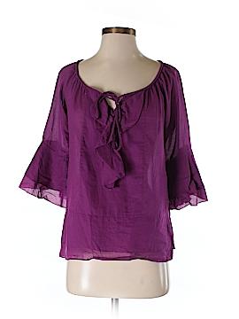 Diane von Furstenberg 3/4 Sleeve Blouse Size 0