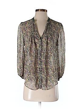 Fei Long Sleeve Silk Top Size 4