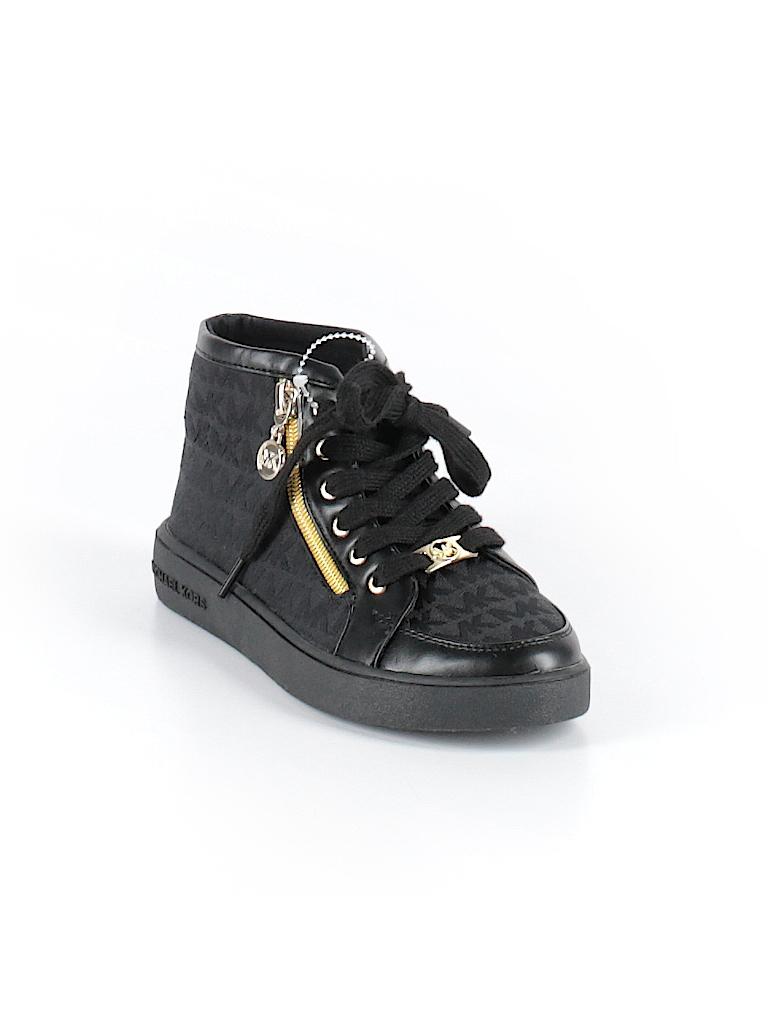 3c0ee5ed43318 MICHAEL Michael Kors Print Black Sneakers Size 1 - 58% off