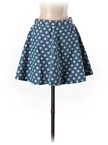 Topshop Denim Skirt Size 6