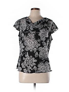 Bay Studio Short Sleeve Blouse Size L