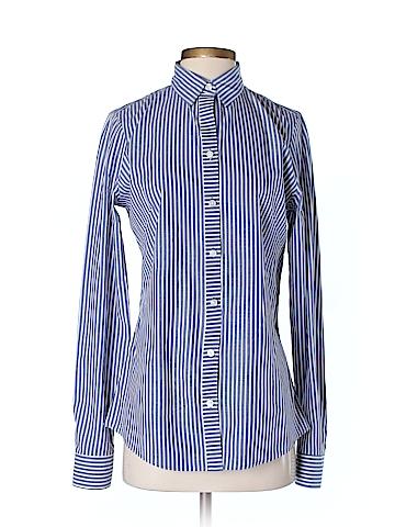 Banana Republic Long Sleeve Button-Down Shirt Size 6 (Tall)