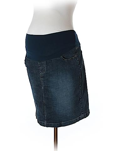 Oh Baby By Motherhood Denim Skirt Size M (Maternity)