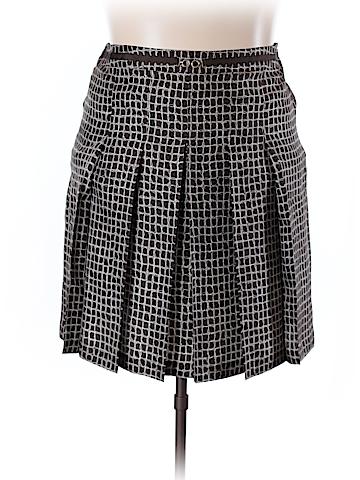Ann Taylor Silk Skirt Size 16 (Petite)