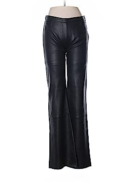Emporio Armani Leather Pants Size 40 (IT)