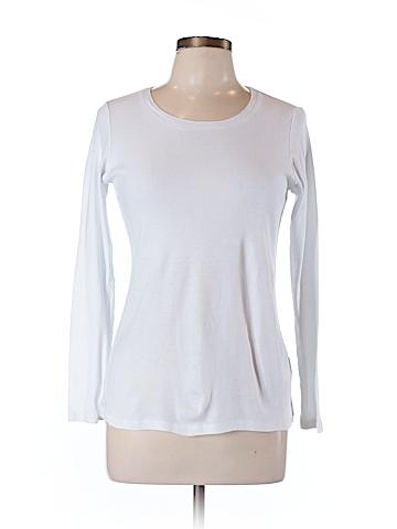 Caslon Long Sleeve T-Shirt Size L (Petite)