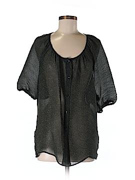Liquid.New York Short Sleeve Blouse Size M