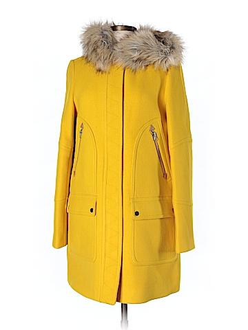 J. Crew Wool Coat Size 12 (Tall)