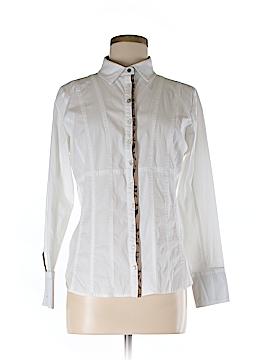 Eva & Claudi Long Sleeve Button-Down Shirt Size M