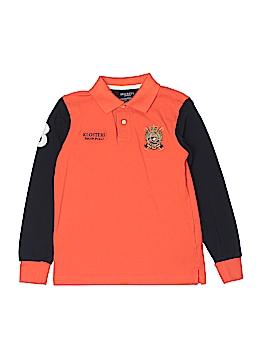 Hackett London Long Sleeve Polo Size 9-10