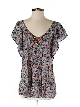 La Rok Short Sleeve Blouse Size XS